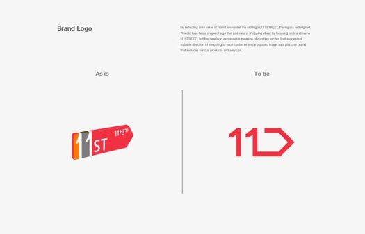 Old logo vs new logo.
