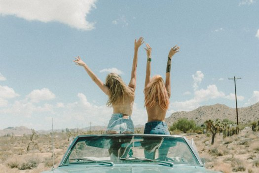 Asher Moss Photography, Girls road trip.