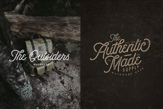 Both styles are inspired by the great outdoors.