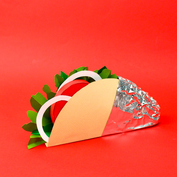 Paper Food Crafted By Samuel Shumway