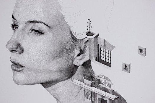 Bauhaus detail view.