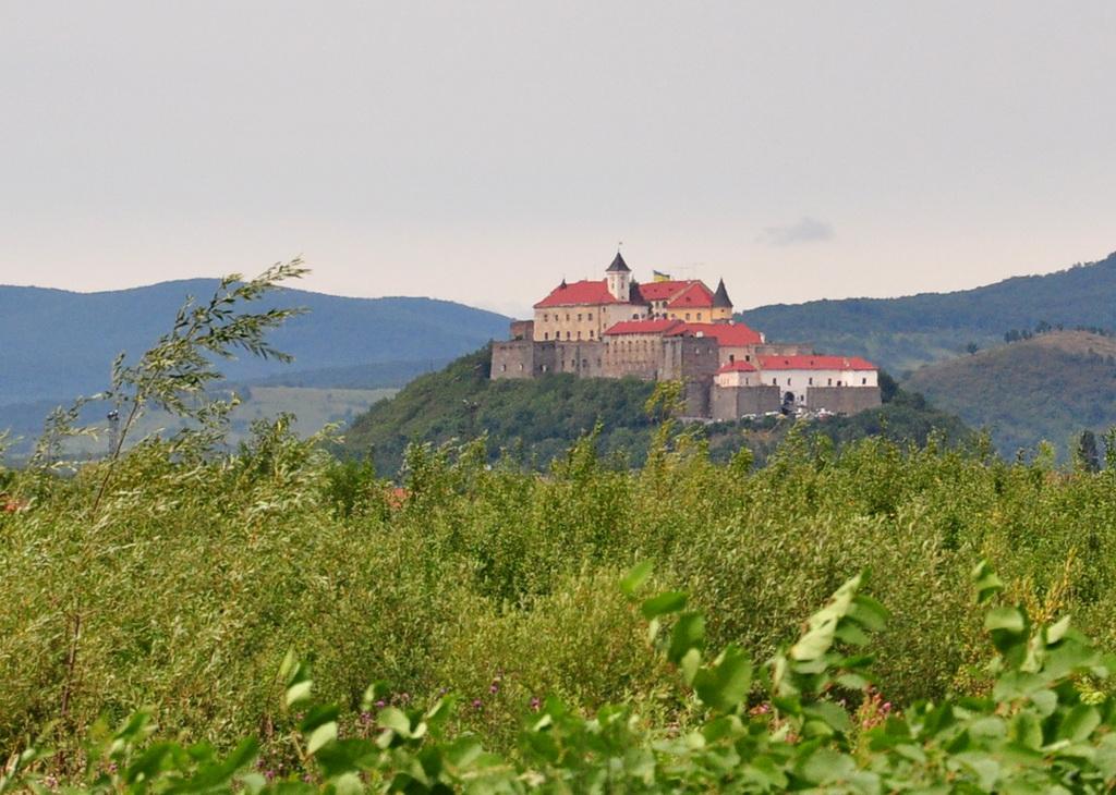Древний замок Паланок