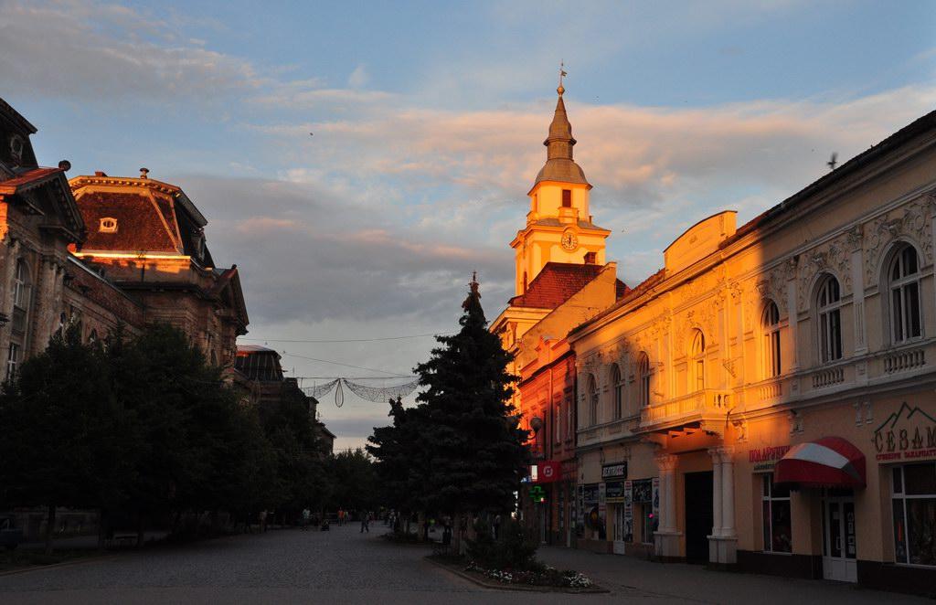 Берегово – столица Закарпатского виноделия