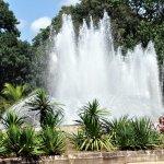 фонтаны в парке