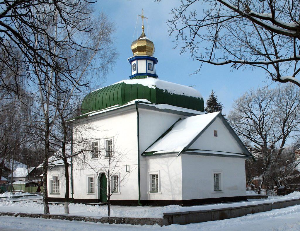Спасская церковь в Полтаве
