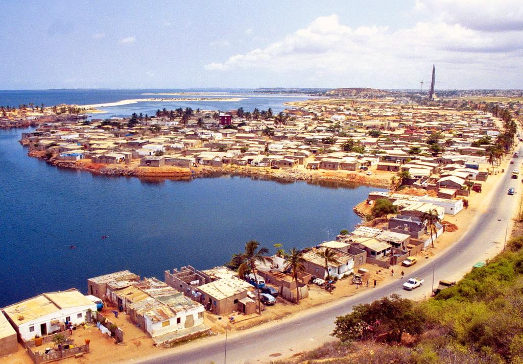 Луанда на прибрежной террасе