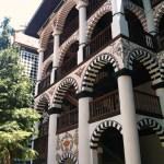 Резные террасы Рильского монастыря