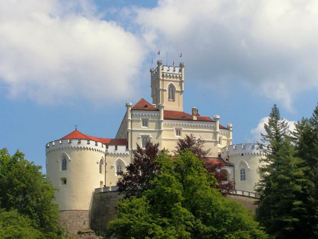 замок Трашкошчан в Хорватии