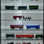 Экспозиция вагонов разных годов