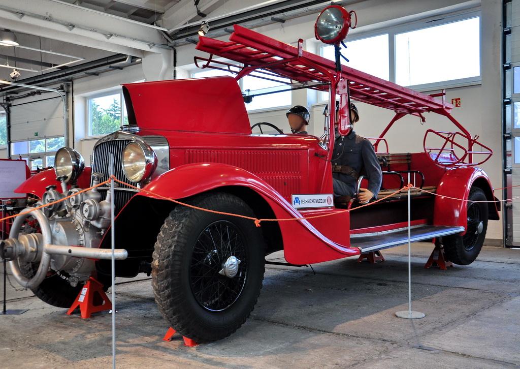 Музей пожарных машин