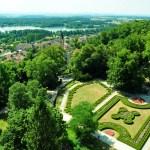 Сад вокруг замка Глубока