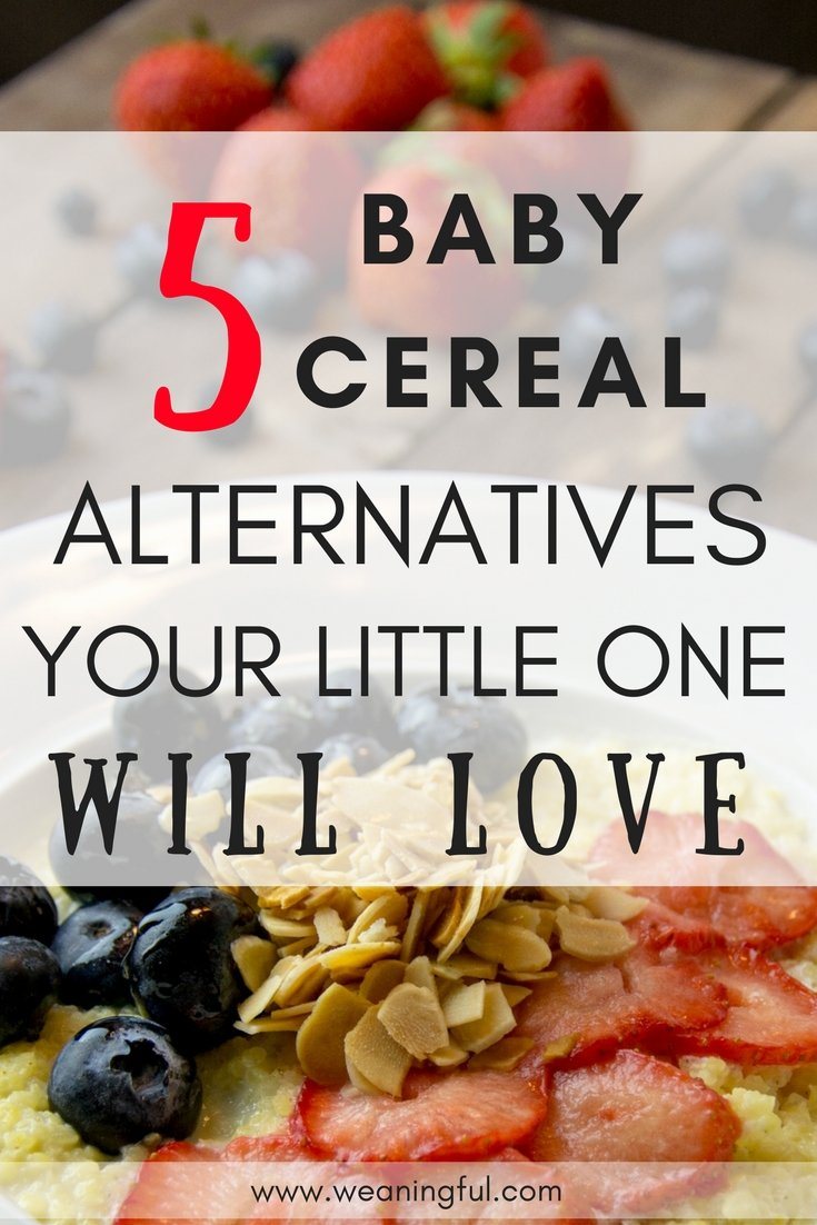 If you're just started introducing solids, or you want some baby led weaning first foods ideas which are not baby cereal, then this post will give you some weaning advice regarding why cereal might not be a good choice.