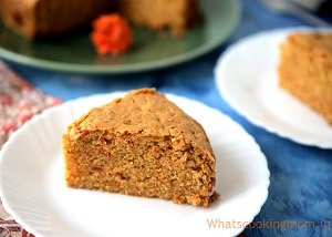 eggless carrot cake baby led weaning first foods finger foods