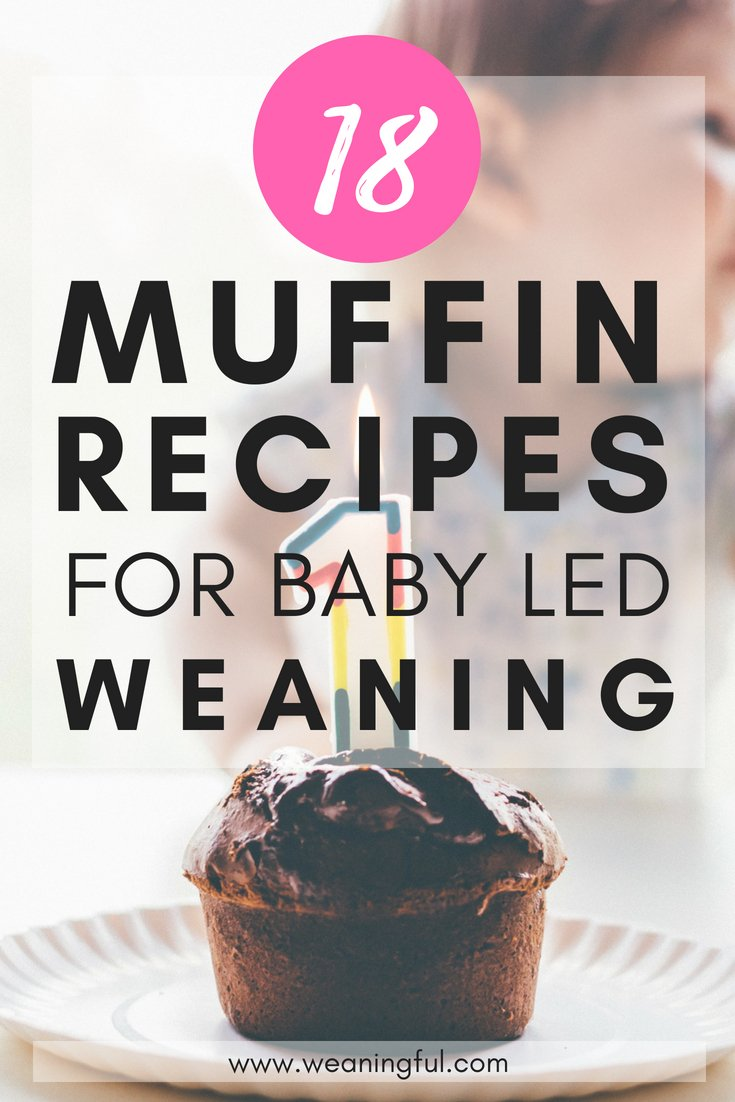 18 muffin recipes for baby led weaning beginners and starting solids at 6 months. Baby led weaning first foods or finger foods ideas and meals