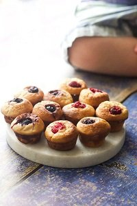 mini blender muffins no sugar great for baby led weaning first foods and finger foods