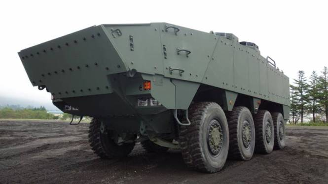 At The Defence Exhibition Indodefence 2010 Pindad Company Presents Its New Range Of Wheeled Armoured