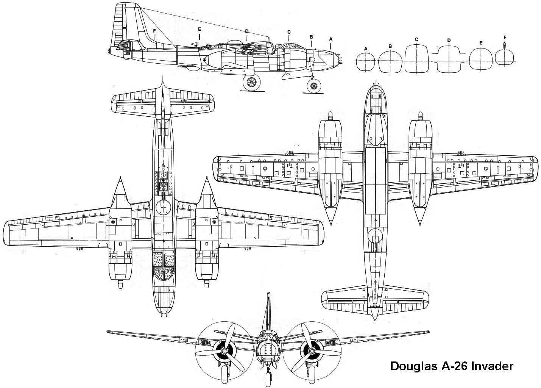 Douglas A 26 Invader