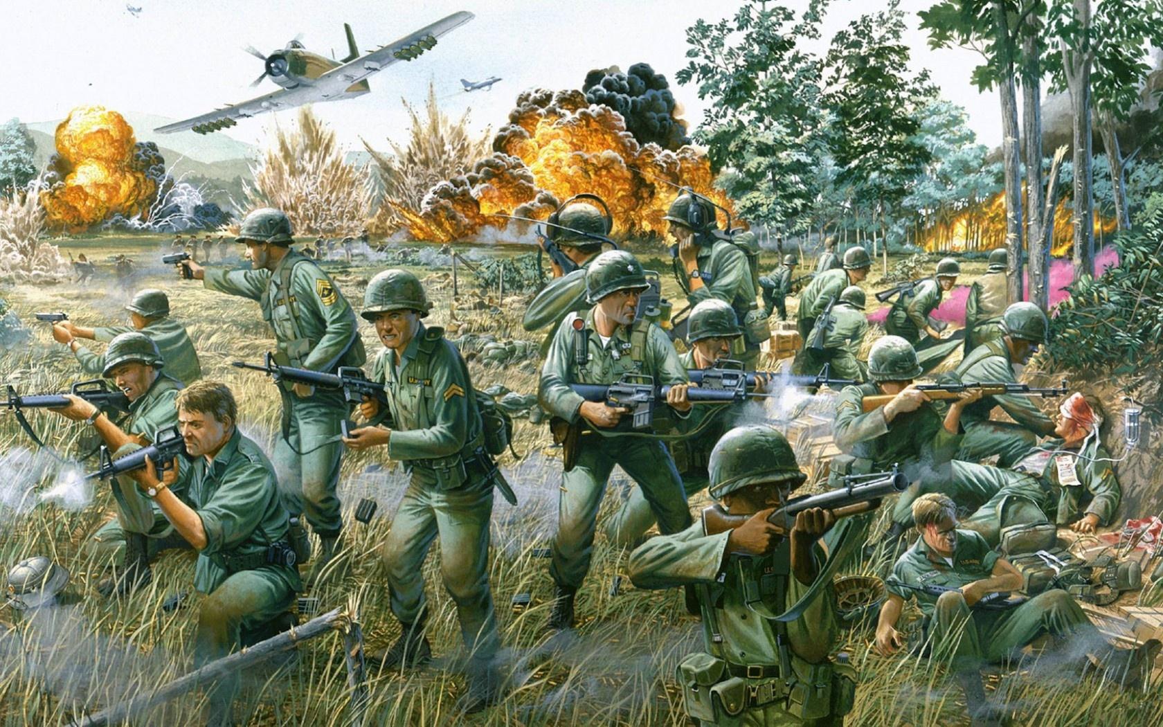 Vietnam Land Air Battle The Helicopter War