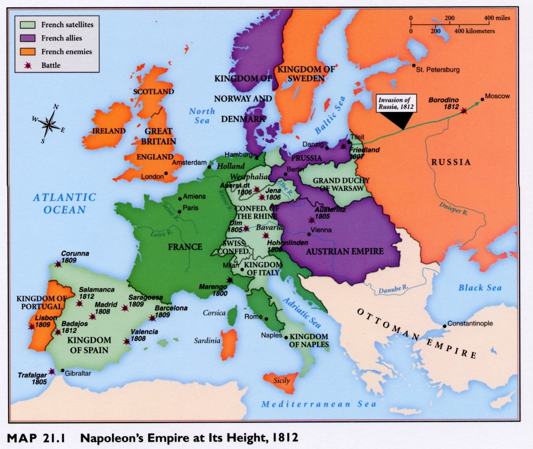 Occupied Europe And The Napoleonic Empire