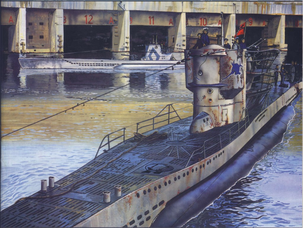 The U Boats Of World War Two