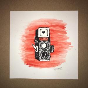 (Mini Camera print HC)