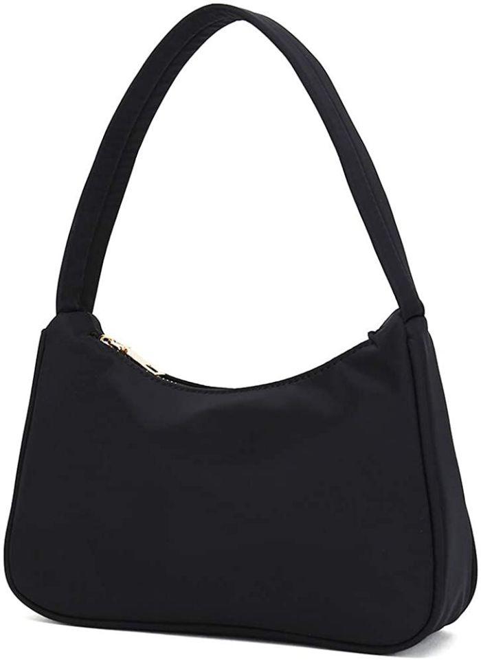 CATMICOO Small Nylon Shoulder Bags for Women Mini Handbags with Zipper Closure amazon