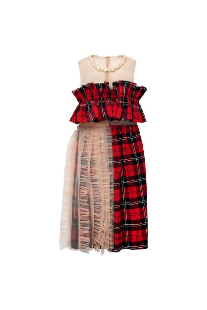 Tulle-embellished Cotton Dress, £119.99, Simone Rocha x H&M