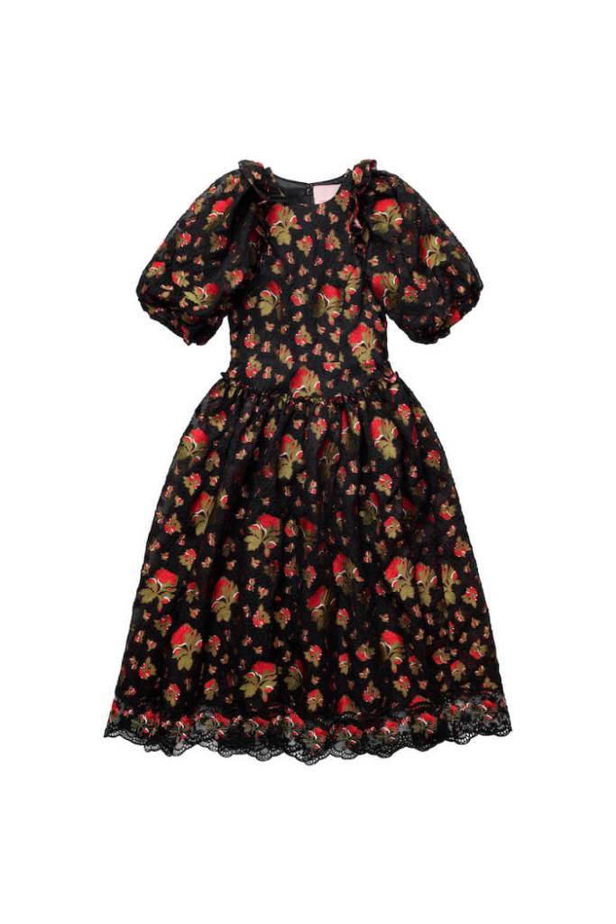 Jacquard-weave Silk-mix Dress, £139.99, Simone Rocha x H&M