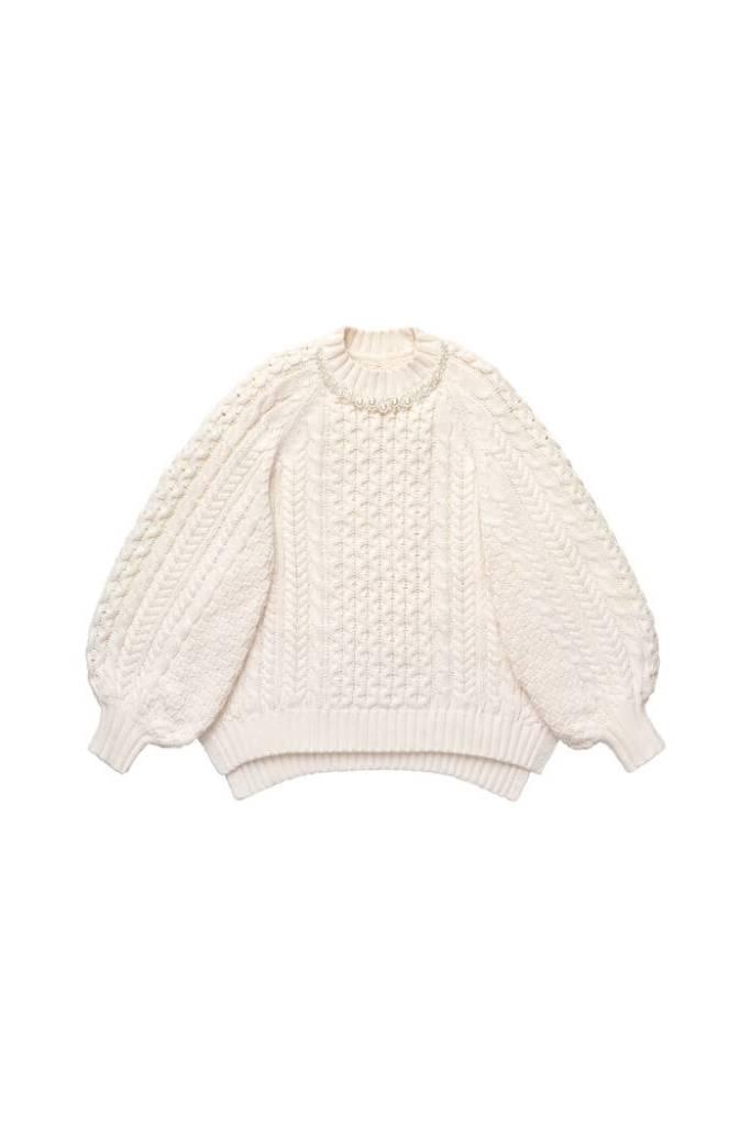 Chunky-knit Jumper, £69.99, Simone Rocha x H&M