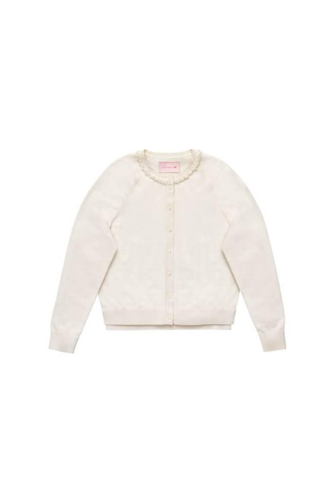 Silk-blend cardigan simone rocha x h&m £69.99