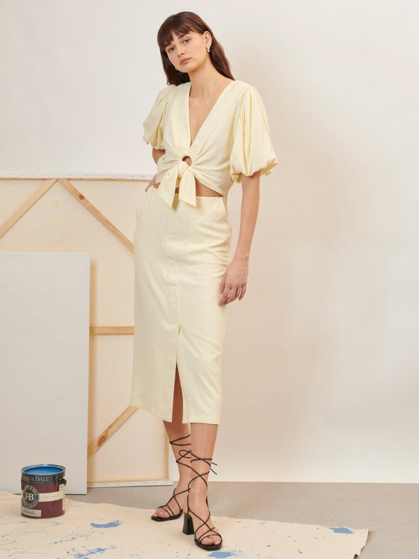 Renewal Knotted Midi Dress