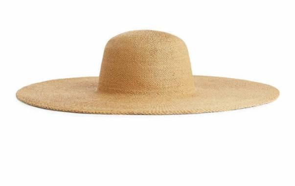 Wide-Brim Straw Hat Arket