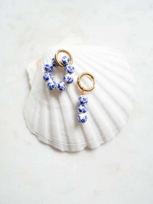 Sao Bento Earrings, £18, Beaches & Cream