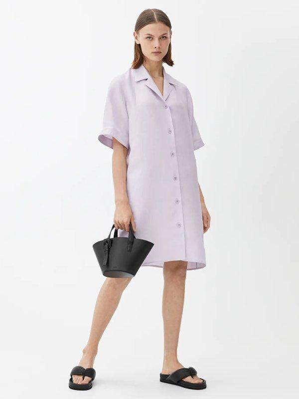 Viscose Linen Resort Dress