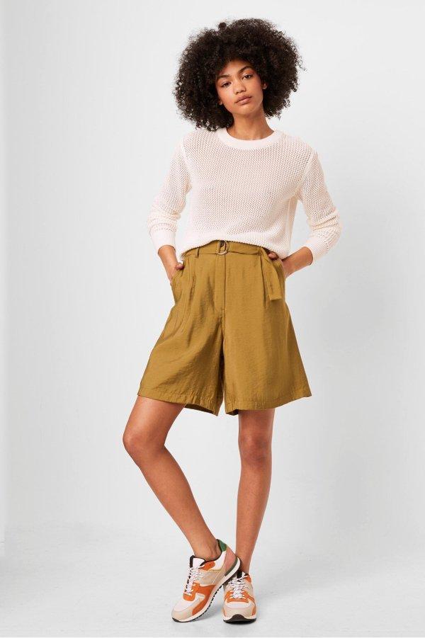 Brekhna Drape Bermuda Shorts, £39, French Connection