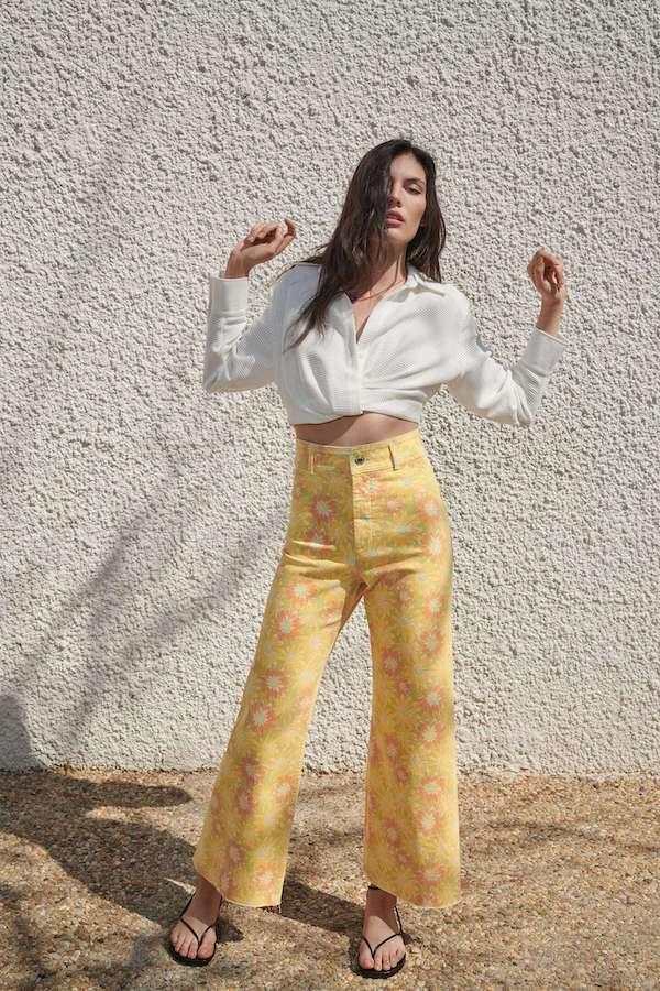 Zara The Marine Straight Jeans