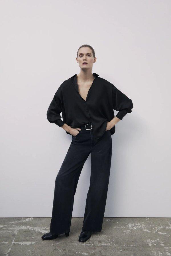Zara Z1975 High Rise Wide Leg