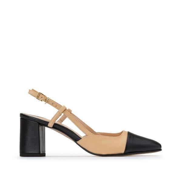 Dhapop Leather Heels
