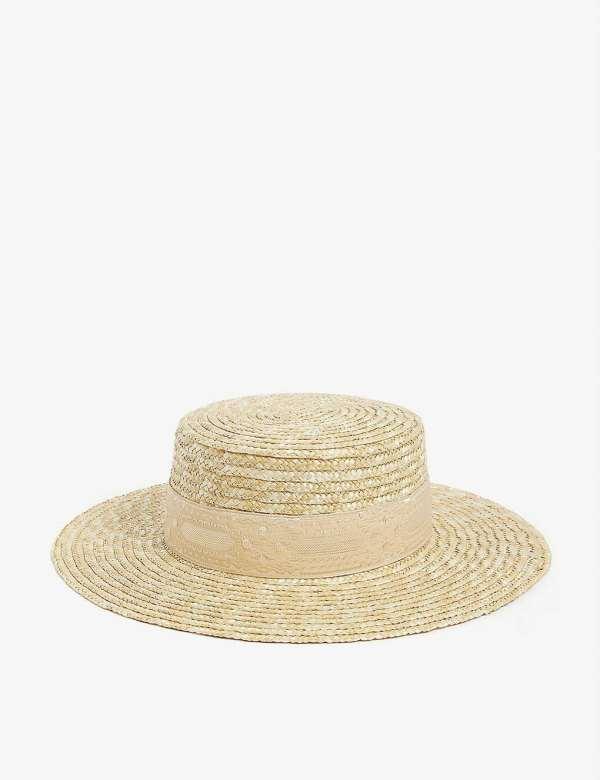 Lack Of Color at Selfridges Spencer Boater Hat