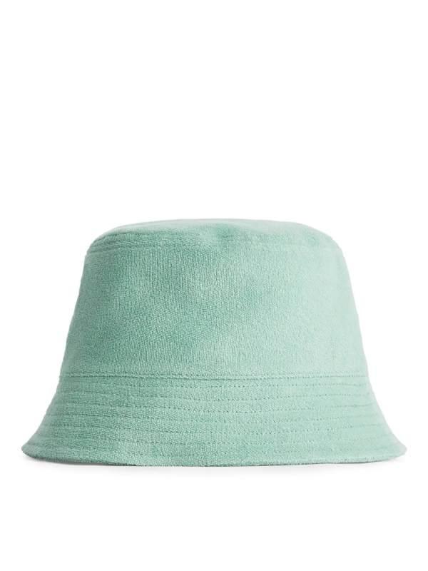Cotton Towelling Bucket Hat