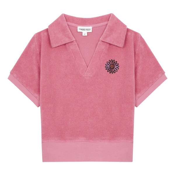 Organic Terry Cloth Polo Shirt