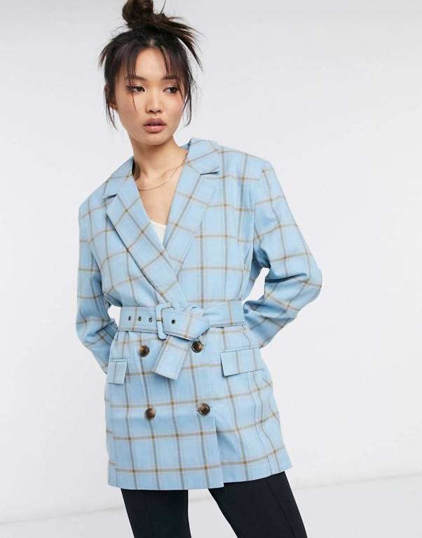 ASOS Mansy Double Breasted Suit Blazer