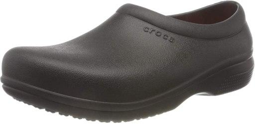 Crocs Unisex Adults' On the Clock Work Slipon Sandals