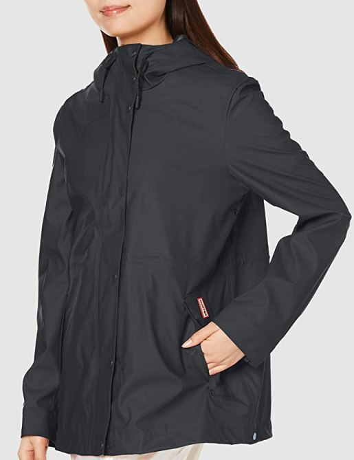 Hunter Original Lw Rubberised Womens Jacket
