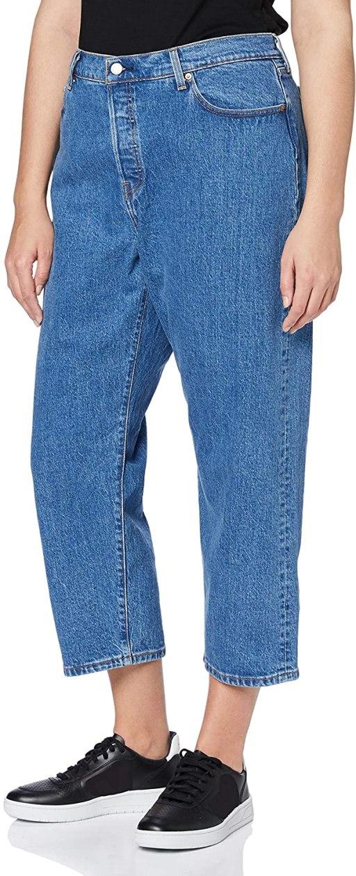 Levi's Plus Size Women's Straight Jeans amazon