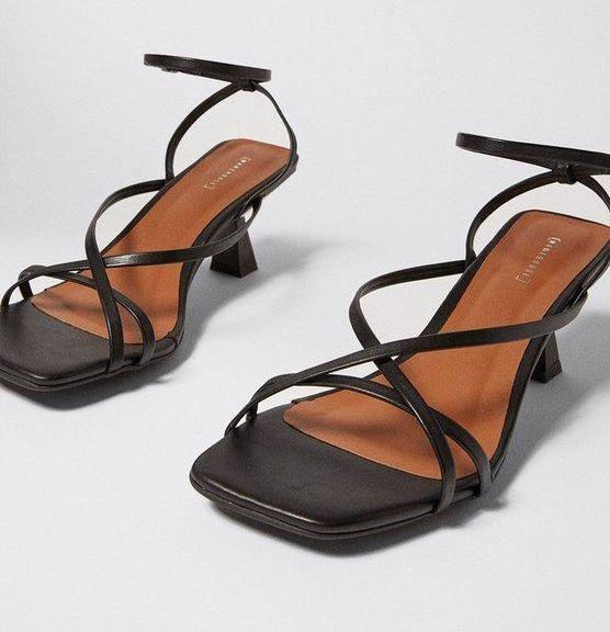 Strappy Heeled Sandal Warehouse
