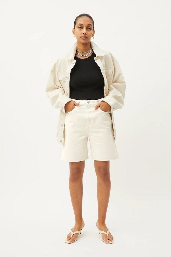 Weekday Dandy Denim Shorts