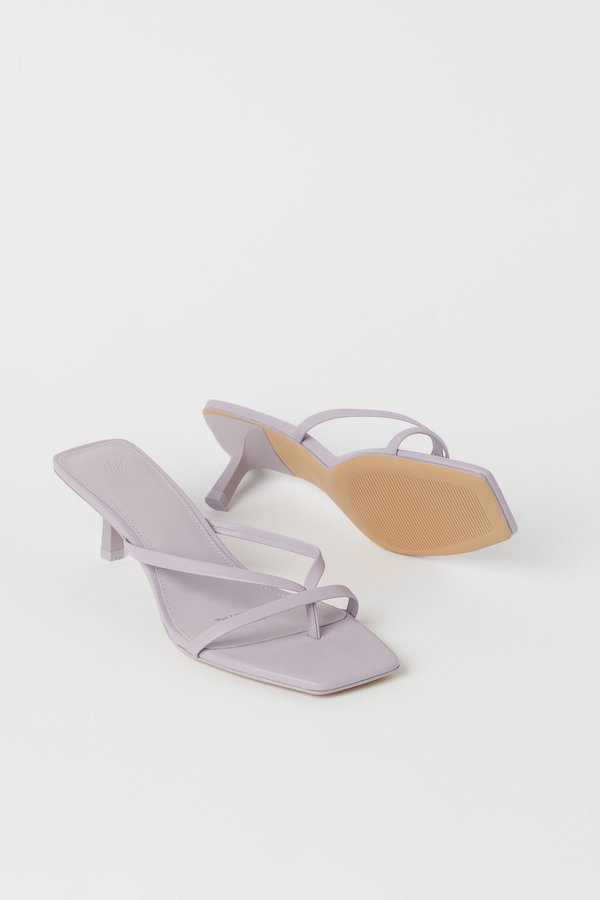 H&M Light Purple Mules