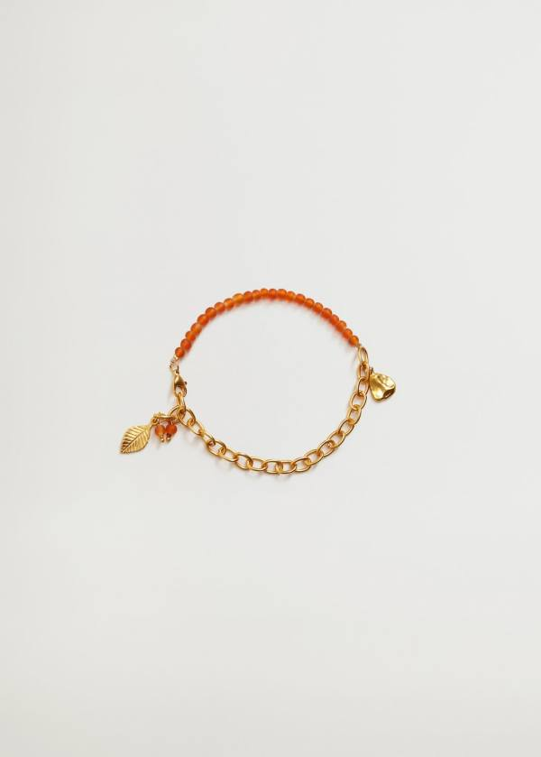 Mixed Bead Anklet, £15.99, Mango