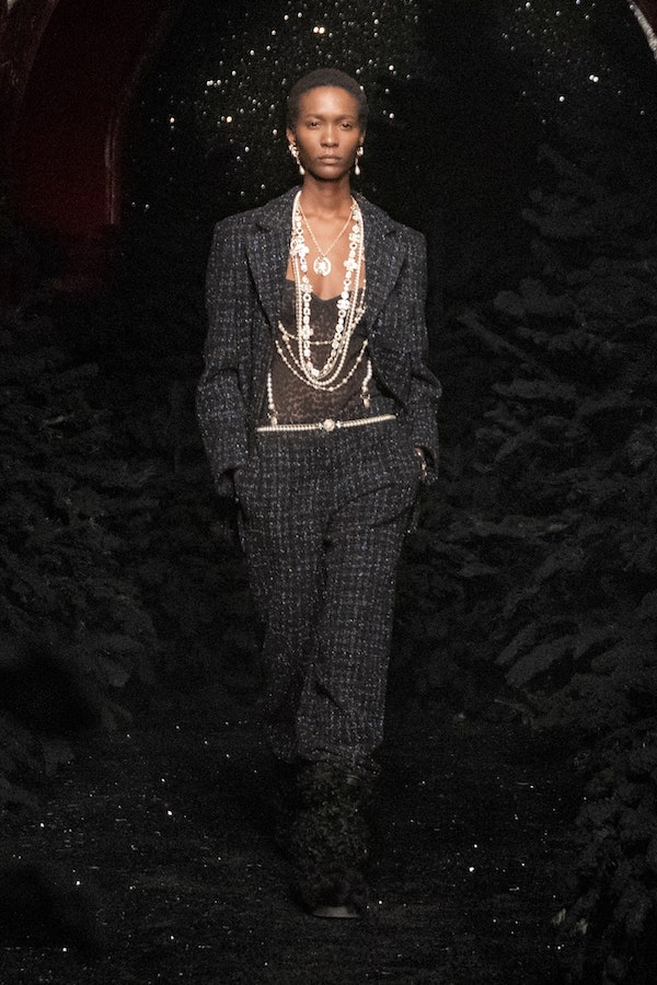 Chanel AW21 pearl jewellery